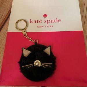 Kate Spade Cat Key chain NWOT